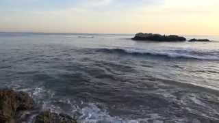 RELAXING BEACH WAVES- ONE HOUR CALMING OCEAN SOUNDS 4K 2160P