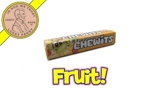 Chewits Fruit Salad Flavour Candy Chews - Uk Candy & Snack Tasting