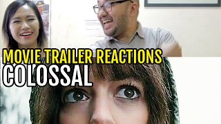 Colossal Movie Trailer Reactions