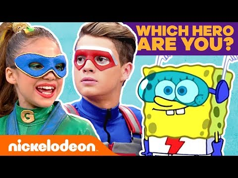 Which Nick Hero Are You? ⭐ Personality Quiz | #KnowYourNick