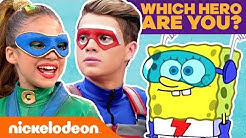 Which Nick Hero Are You?  Personality Quiz | #KnowYourNick