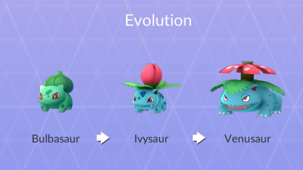 Bulbasaur Evolution Chain