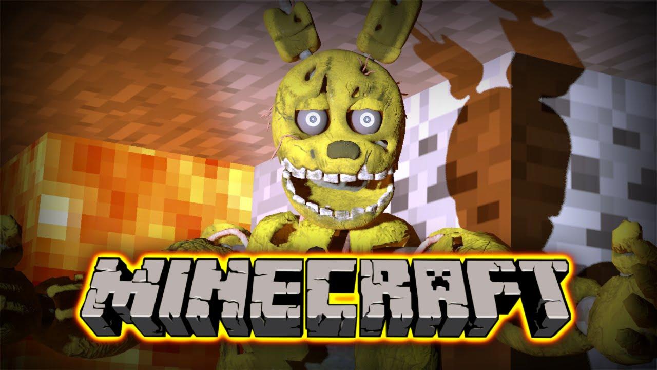 If Springtrap Haunted Minecraft  Minecraft  Gmod Machinima