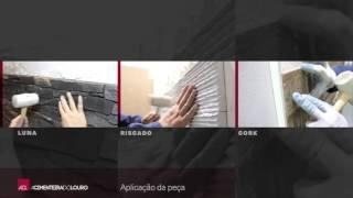 Vídeo Aplicação Luna Riscado Cork