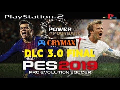 PES 2019 (PS2) World Atualizado December (DLC 3 0 FINAL [Crymax]) Download  ISO and Rewiev