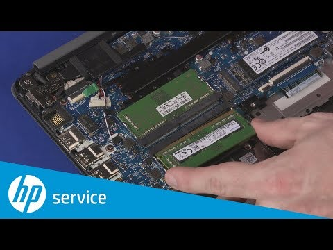 How to Replace the Memory Module(s) | HP 14 Laptop PC and HP 240 G7 Notebook PC