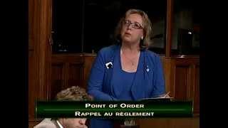 Elizabeth May argues that Speaker must reject omnibus budget bill