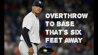 MLB One In a Million Errors