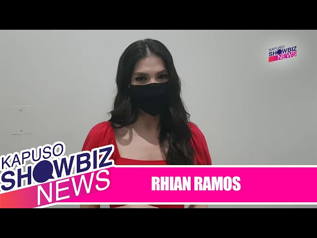 Rhian Ramos reacts to public's reception of her kissing scene with Jennylyn Mercado