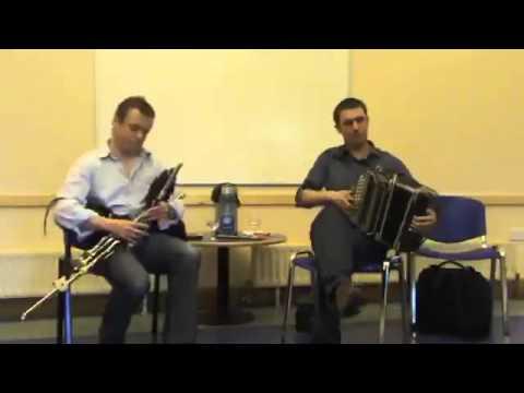 Paudie O'Connor accordion & John O'Brien uilleann pipes CCÉ Leixlip Recital