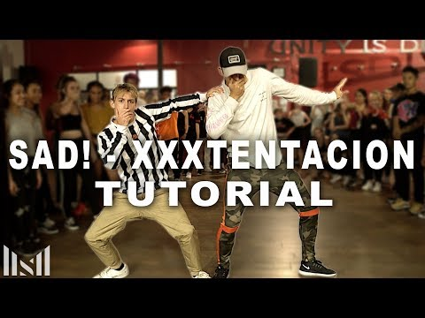 SAD! - XXXTENTACION Dance Tutorial | Matt Steffanina Choreography | DANCE TUTORIALS LIVE