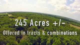 Luxury Home And 245 Acre +/- Land Auction Chandler, Ok No Reserve