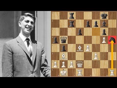 Sac, Sac and Mate! | Fischer vs Larsen | Portoroz (1958)
