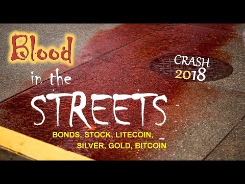 BLOOD IN THE STREETS - Bitcoin, Litecoin, Silver, Gold, Stocks, Bonds, Dollar