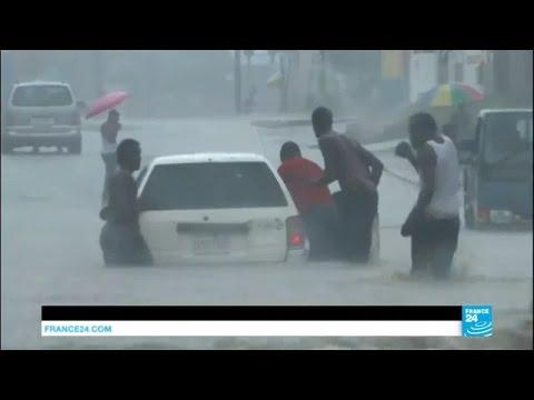 Caribbean: Hurricane Matthew lashes Jamaica, expected to hit Haiti and Cuba