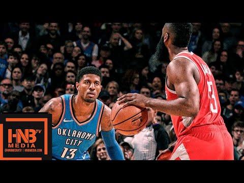 Houston Rockets vs Oklahoma City Thunder Full Game Highlights | 11.08.2018, NBA Season