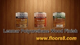 Lenmar Polyurethane Wood Finish