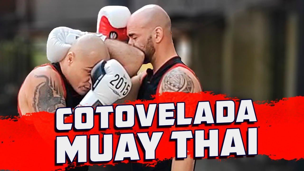 Como aplicar cotovelada no Muay Thai com Tigrão @STRIKEPRO