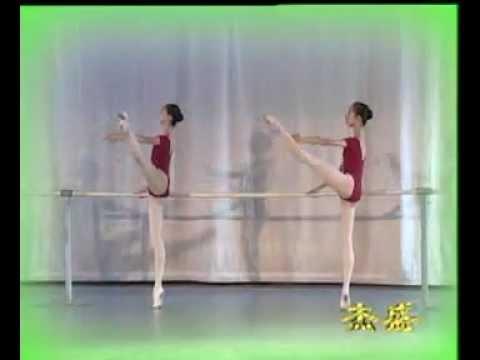 Ballet Techniques---ROND DE JAMBE A TEREE