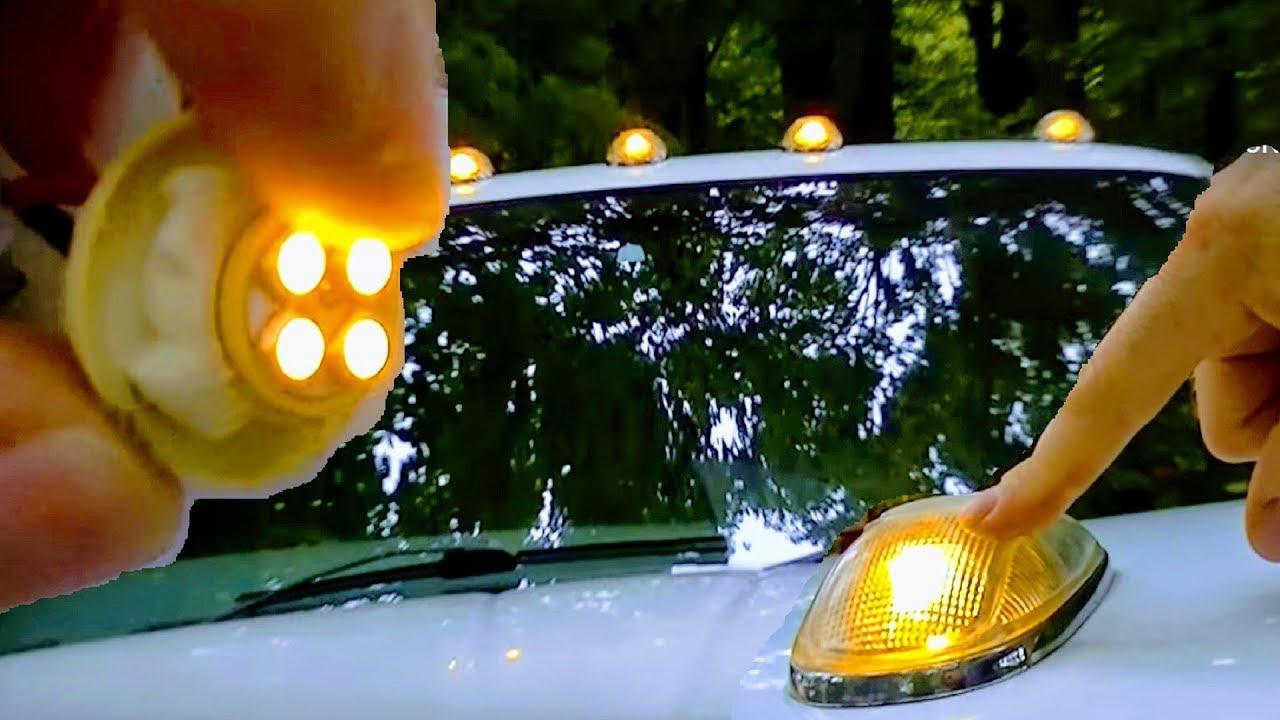 How To Replace Leds Cab Roof Light Pick Up Truck 12v Hyperflash Problem Recon Chrome Dodge Ram 24v