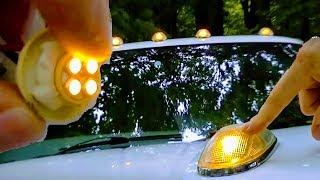 HOW TO REPLACE LEDs CAB ROOF LIGHT |PICK UP TRUCK |12V HYPERFLASH PROBLEM RECON CHROME DODGE RAM 24V