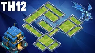 2018 NEW TH12 BASE Anti 3 Star || Clash of clans New Best Base Layout