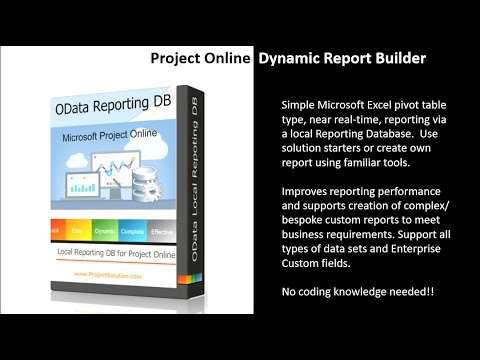 OData Dynamic Report Builder