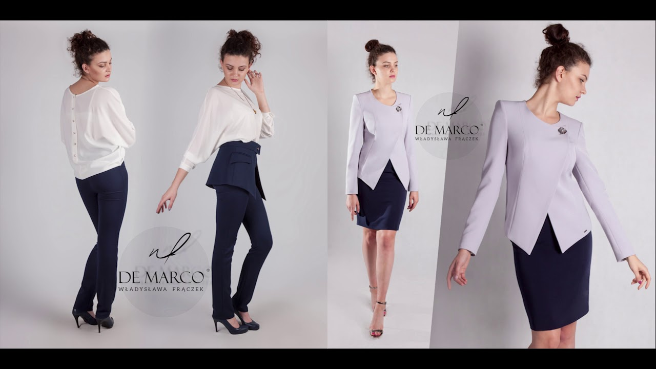 2bde8822b6 Wizytowe garsonki i kostiumy damskie. Sklep internetowy De Marco ...