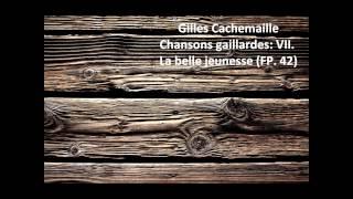 "Gilles Cachemaille: The complete ""Chansons gaillardes FP. 42"" (Poulenc)"
