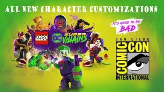 LEGO DC SUPER-VILLAINS - SDCC Trailer (Full Length HD Widescreen [UK])