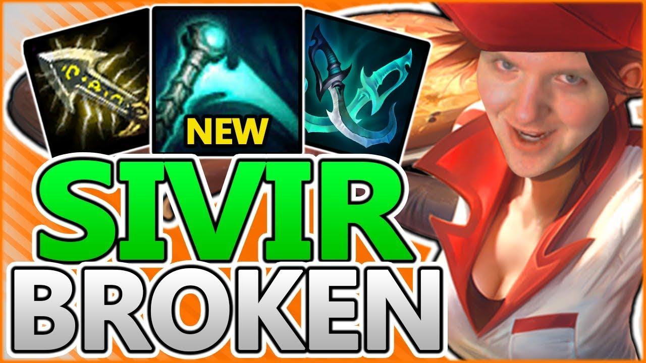 New Essence Reaver Breaks Sivir New Adc Sivir Guide Season 8