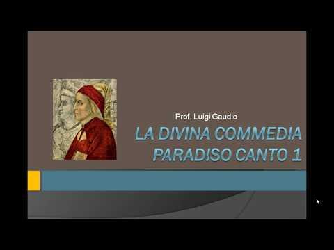 Introduzione al Paradiso e inizio della lettura del primo canto, vv. 1-6