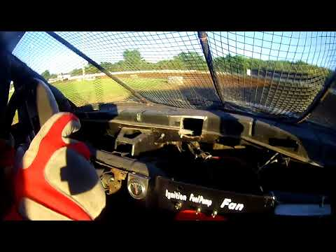 Lafayette County Speedway Four Cylinder Heat Race 6/29/18