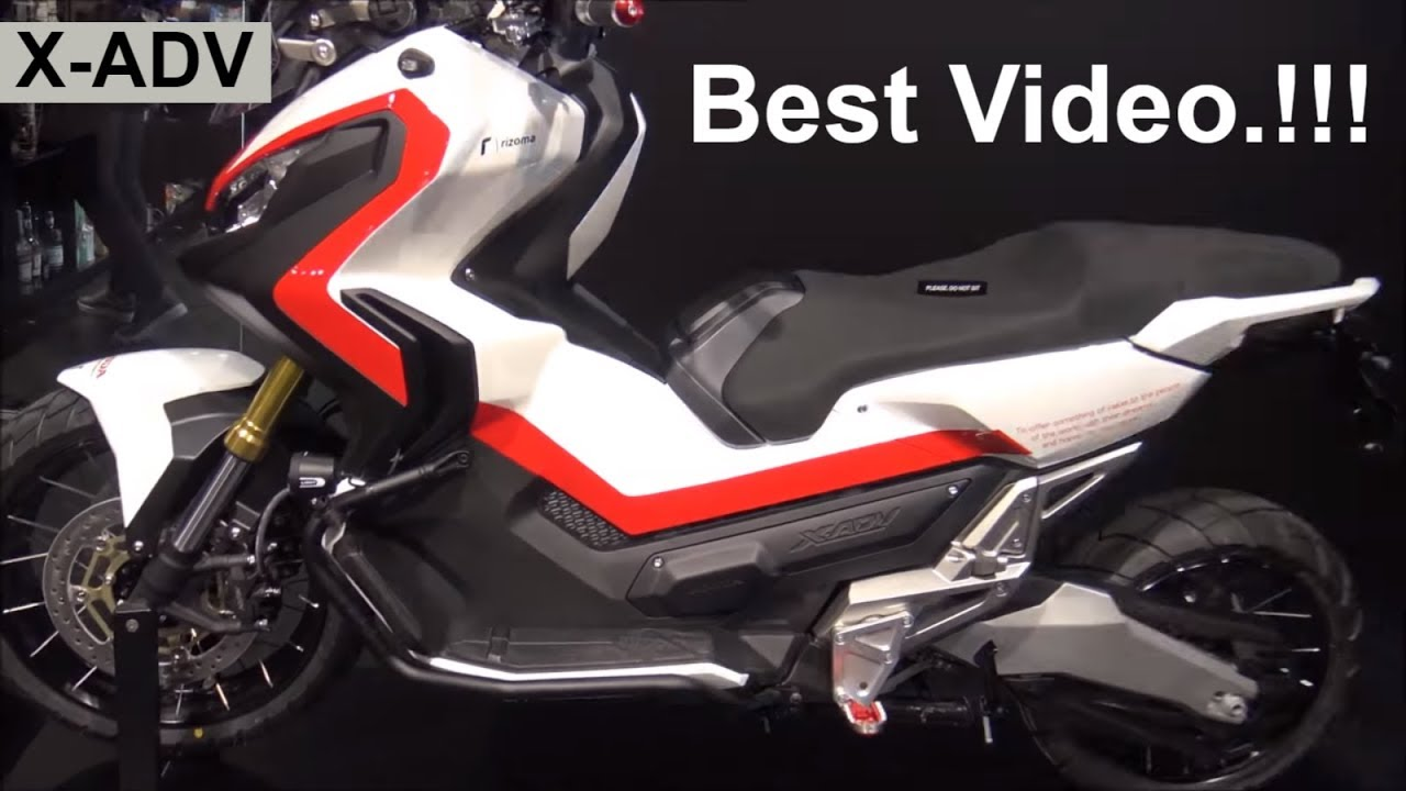 The Honda X-ADV off Road Scooter 2018 - Best Video.!!! - YouTube
