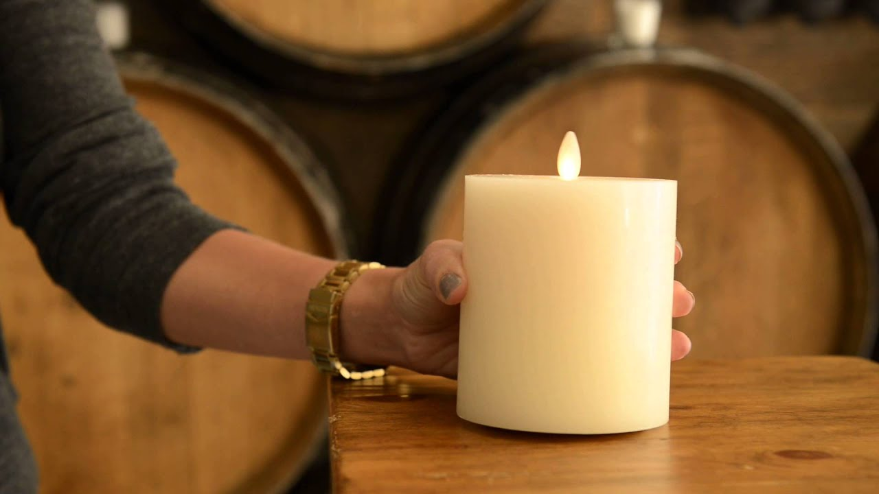 Enhance Your Home Decor With Flameless Candles | Pottery Barn   YouTube
