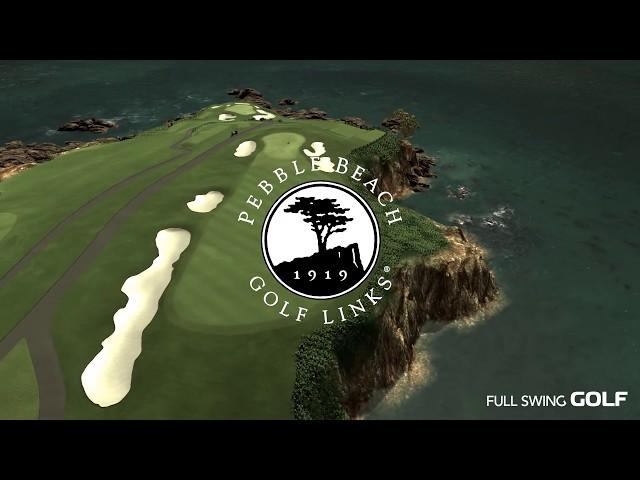 Full Swing GOLF Software: Pebble Beach Golf Links Flyover