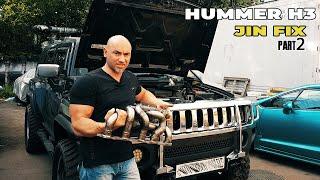 Hummer H3 DIY exhaust manifold ( Part 2) Collector Jig fixture fabrication