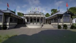 Виртуальная реконструкция ресторана Эспиля в Выборге