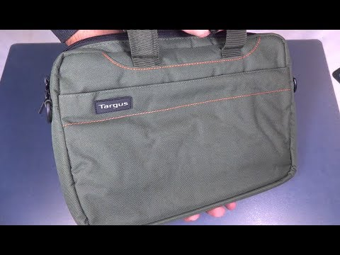 "Targus 11.6"" Polyester Bag Unboxing"