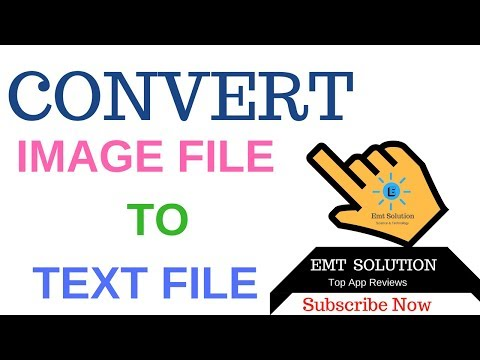 CONVERT IMAGE FILE  JPG, PNG TO  MICROSOFT WORD TEXT FORMAT