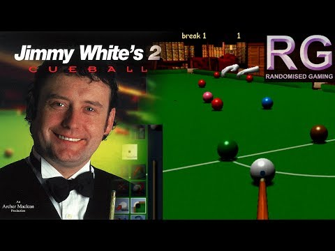Jimmy White's 2: Cueball - Sega Dreamcast - Snooker & Pool gameplay [HD 1080p 60fps]
