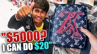 FAKE DESIGNER MARKET SHOPPING SPREE ($100,000)