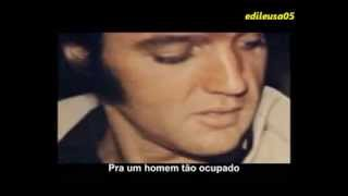 "Elvis Presley ""Love coming down"" (com legendas)"