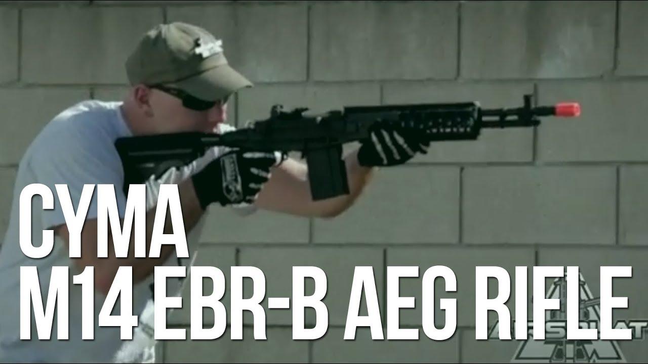 CYMA M14 EBR-B Airsoft Sniper AEG Rifle - AirSplat On ... M14 Sniper Rifle Airsoft