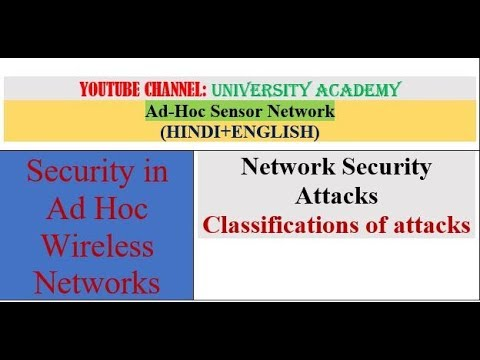 ASN T8: NETWORK SECURITY ATTACKS AND ITS CLASSIFICATION