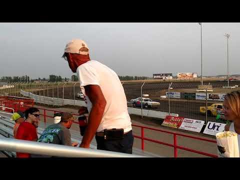 080818 RRVS Stock Car Heat Race