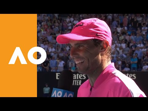 """Rafael Nadal: """"I hope to keep moving in the right way"""" 