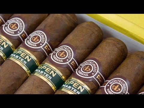 Montecristo Open Master series original cuban cigar unboxing ...