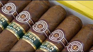 Монтекрісто відкритий майстер-серія оригінальних кубинських сигар розпакування розпакування