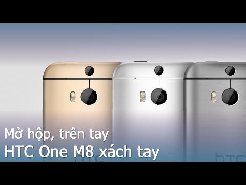 [Review dạo] Mở hộp HTC One M8 bản xách tay giá cực tốt